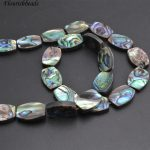 Natural Abalone Shell Flat Barrel Drum Shape Loose Beads 13x18mm 10x14mm DIY <b>Jewelry</b> making <b>supplies</b>