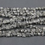 5-8mm Silver Titanium Quartz Drilled Chips Beads,Raw Crystals Rough Quartz Rubble Loose Beads Nuggets <b>Jewelry</b> <b>Supplies</b>