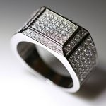 Square Surface <b>ring</b> full Cubic Zircon men's wedding <b>rings</b> Luxury <b>sterling</b> <b>silver</b> <b>ring</b> men fashion jewelry US size 8-12