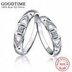 1PCS <b>Sterling</b> <b>Silver</b> Wedding <b>Rings</b> Fine Jewelry 925 <b>Sterling</b> <b>Silver</b> <b>Ring</b> Inlay Zirconia Finger <b>Rings</b> for Women Jewelry GTR034