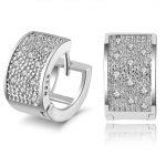 <b>Sterling</b>–<b>silver</b>-jewelry pendientes mujer <b>earrings</b> 925 brincos plata earing stud orecchini oorbellen women jewelry crystal HFGMN