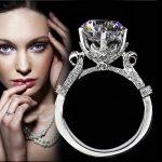 choucong Eternity Handmade 2ct 5A Zircon Cz 925 <b>Sterling</b> <b>silver</b> Women Engagement Wedding Band <b>Ring</b> Sz 4-10 Gift