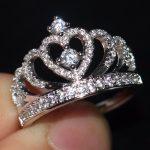 2017 New Arrival Women Fashion Jewelry Pave Setting 925 <b>Sterling</b> <b>Silver</b> Female CZ stones Wedding Engagement Crown <b>Ring</b> Size5-11