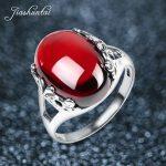 JIASHUNTAI Retro <b>Silver</b> <b>Rings</b> For Women Vintage Royal Opening <b>Rings</b> Adjustable 100% 925 <b>Sterling</b> <b>Silver</b> Jewelry Female