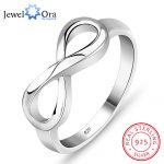 Genuine 925 Brand <b>Rings</b> For Women Knot <b>Ring</b> <b>Sterling</b> <b>Silver</b> S925 Stamped <b>Silver</b> Infinity <b>Ring</b> Best Gift(JewelOra Ri101995)