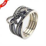 Fits European Jewelry CKK Brand 100% 925 <b>Sterling</b> <b>Silver</b> <b>Rings</b> for Women Delicate Sentiments <b>Silver</b> <b>Ring</b> Fine Jewlery CKR089
