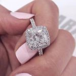 925 <b>Sterling</b> <b>Silver</b> Wedding Engagement promise <b>Rings</b> Pink blue for Women gold Wholesale Jewelry Finger solid design R820