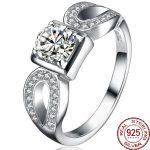 Aceworks Square Multicolor Zirconia 925 <b>Sterling</b> <b>Silver</b> High Grade <b>Rings</b> Women Bridal Bridesmaids Fashion Bohemia Jewelry Gift
