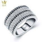 ANGG Classical S925 <b>Sterling</b> <b>Silver</b> <b>Ring</b> for Women Cubic Zirconia Wedding & Engagement Jewelry Prong Setting <b>Rings</b> Wedding Band