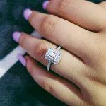 Fashion 925 <b>sterling</b> <b>Silver</b> Engagement wedding <b>Rings</b> for Women <b>ring</b> set band finger promise Jewelry blue bridal wholesale R1997