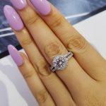 Moonso 925 <b>Sterling</b> <b>Silver</b> Wedding Engagement <b>Rings</b> Halo <b>Rings</b> for Women Wholesale Jewelry finger solid new fashion <b>Rings</b> R211A