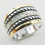 Fashion Women 925 <b>Sterling</b> <b>Silver</b> <b>Ring</b> F869 Size 6 7 8 9 10