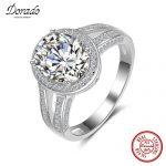Dorado 2017 New 925 <b>Sterling</b> <b>Silver</b> Full Drill <b>Ring</b> Oval Big AAA Cubic Zirconia Fine Jewelry Top Quality
