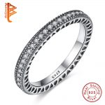 Original 100% 925 <b>Sterling</b> <b>Silver</b> Inspiration Hearts With Crystal Finger <b>Rings</b> Authentic Luxury Jewelry For Women Wedding Gift