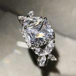 <b>Sterling</b> <b>silver</b> <b>rings</b> Rectangular big carat Cubic Zircon wedding <b>rings</b> for women butterfly shape <b>sterling</b>–<b>silver</b>-jewelry