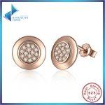 925 <b>Sterling</b> <b>Silver</b> <b>Earrings</b> One Love Signature Stud <b>Earrings</b> for Women with European <b>Sterling</b> <b>Silver</b> Brand Jewelry PAS453