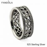 CKK 925 <b>Sterling</b> <b>Silver</b> Vintage Fascination <b>Rings</b> For Women Original European Style DIY Fashion Jewelry