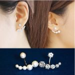 New 2017 Hot Sell Fashion Pearl & Crystal Design 925 <b>Sterling</b> <b>Silver</b> Stud <b>Earrings</b> for Women Jewelry Christmas Gift Wholesale