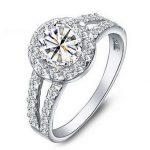 Wedding <b>Rings</b> for Women 2016 New Arrival Super Shiny 3 Carat Stone 925 <b>Sterling</b> <b>Silver</b> <b>Ring</b> Jewelry Wholesale Gift
