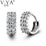 Hoop 100% Real 925 <b>Sterling</b> <b>Silver</b> <b>Earrings</b> for Women S925 <b>Silver</b> Punk Classic Hoop <b>Earring</b> New Fine Jewelry CE149