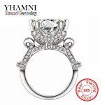 Luxury Big SONA Created Diamant <b>Ring</b> Real 925 <b>Sterling</b> <b>Silver</b> Jewelry Engagement <b>Ring</b> Best Gift Wedding <b>Rings</b> For Women J2902