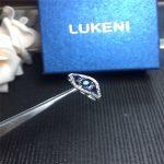 Wedding <b>Ring</b> 925 <b>Sterling</b> <b>Silver</b> <b>Rings</b> For Women Jewelry Blue Sapphire Mother <b>Ring</b> Party Jewelry