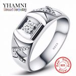 Have <b>Silver</b> Certificate!!! Solid 925 <b>Sterling</b> <b>Silver</b> <b>Ring</b> Couple <b>Silver</b> Jewelry CZ Diamant Wedding <b>Rings</b> For Men and Women AR001
