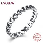 Authentic 100% 925 <b>Sterling</b> <b>Silver</b> Linked Love Connected Hearts <b>Ring</b> For Women Fashion Wedding Jewelry Valentine's Day Gift