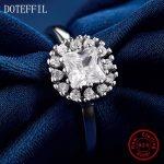New Arrivals 100% <b>Sterling</b> <b>Silver</b> Zircon <b>Rings</b> Women Charm <b>Silver</b> Fashion Mellow <b>Rings</b> Jewelry
