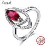 Dorado New Brand Blue Green Red Zirconia Finger <b>Rings</b> for Wedding Engagement Party 925 <b>Sterling</b> <b>Silver</b> <b>Ring</b>