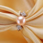 <b>Sterling</b> <b>Silver</b> 925 Pearl <b>Ring</b> 100% Natural Freshwater Pearl Cubic Zirconia Jewelry Women Engagement <b>Ring</b>