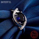 925 <b>Sterling</b> <b>Silver</b> Woman <b>Ring</b> Fashion Charm 100% <b>Silver</b> High Quality AAA Zircon <b>Ring</b> Woman Jewelry