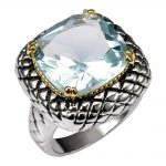 Simulated Aquamarine 925 <b>Sterling</b> <b>Silver</b> <b>Ring</b> Factory Price For Women and Men Size 6 7 8 9 10 11 F1516