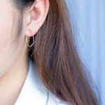 QIMING Simple 925 Hoop <b>Earrings</b> 925 <b>Sterling</b> <b>Silver</b> Jewelry Sexangle Hexagon Charm <b>Earrings</b> For Women Fine Jewelry Wedding Gift