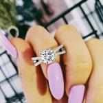 Solid Original designs women fancy weeding <b>rings</b> <b>sterling</b> <b>silver</b> AAA zirconia finger <b>ring</b> designs for women jewelry R4322S