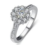 2017 New arrival Super shiny CZ zircon Valentines Gift 925 <b>sterling</b> <b>silver</b> women wedding finger <b>ring</b> ladies`<b>rings</b> HOT