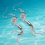 Fashion women drop <b>earrings</b>,925 <b>sterling</b> <b>silver</b> zircon <b>earring</b> for girls,women jewelry fashion