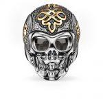 925 <b>Sterling</b> <b>Silver</b> & Gold-color Love Knot Skeleton Skull <b>Rings</b>, European Most Fashion <b>Ring</b> Jewelry Love Best Gift for Women Men