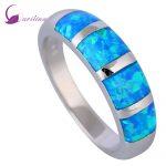 New 2018 Opal <b>rings</b> Fine Jewelry <b>rings</b> for women Blue Fire Opal 925 <b>Sterling</b> <b>Silver</b> Filled Wedding Party Engagement <b>Rings</b> R519