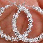 Free Shipping 925 <b>Silver</b> <b>Earring</b>,Fashion <b>Sterling</b> <b>Silver</b> Jewelry,Cherry Blossoms <b>Earrings</b>