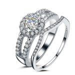 New 2016 Wedding Couple <b>Rings</b> for Men and Women 925 <b>Sterling</b> <b>Silver</b> Super Shiny Cubic Zirconia Engagement <b>Ring</b> Jewelry