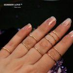 1 Piece Authentic 925 <b>Sterling</b> <b>Silver</b> <b>Ring</b> Thin Ringen for Women Girls Prata 925 Thin Finger <b>Ring</b> 2017 New Jewelry anneau kruh