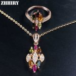 Women Natural Tourmaline Stone Sets Real Solid 925 <b>Sterling</b> <b>Silver</b> Jewelry Set Girl Gem <b>Ring</b> Necklace Pendant