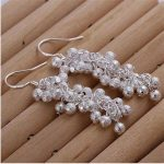 925 <b>Sterling</b> <b>Silver</b> <b>Earrings</b> Trendy Fashion Jewelry <b>Earrings</b> For Women Eh106